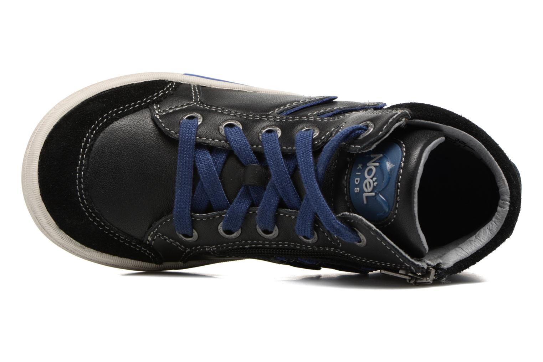 Sneakers Noël Ruben Zwart links