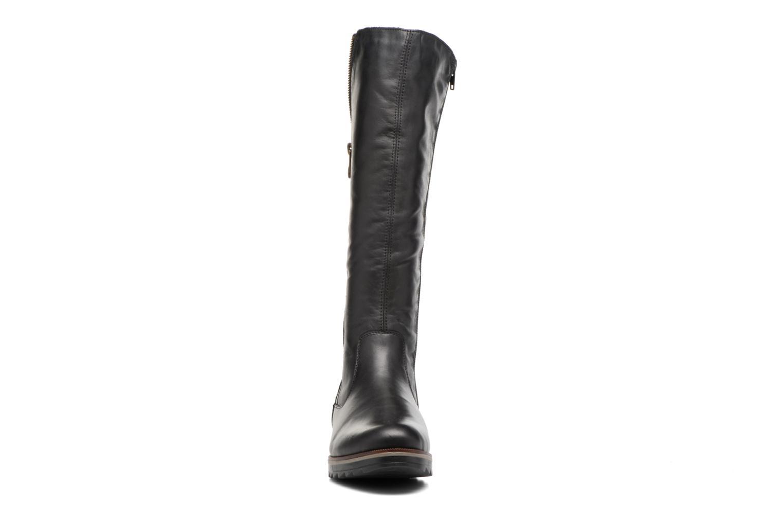 Bottes Remonte Mouna R2277 Noir vue portées chaussures