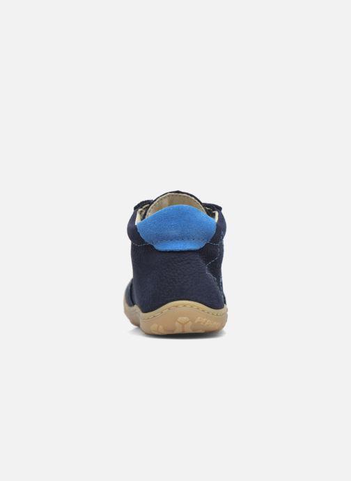 Bottines et boots Pepino Samy Bleu vue droite
