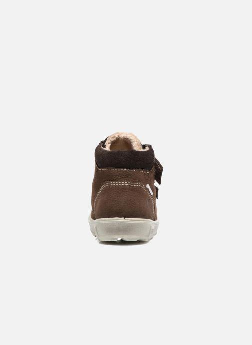 Bottines et boots PEPINO Alex-dry Marron vue droite