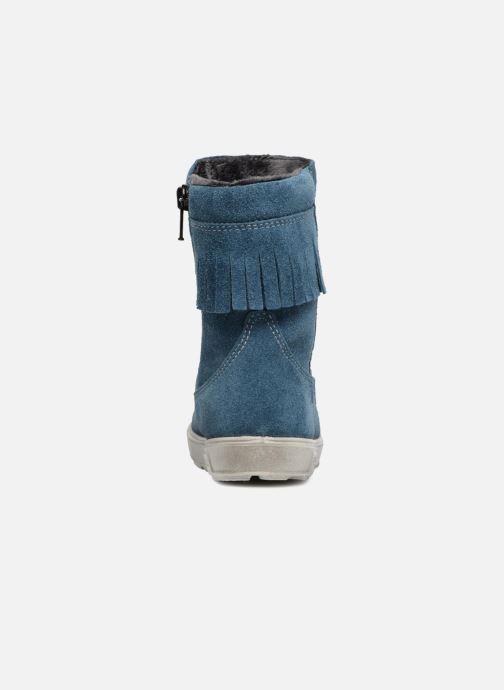 Botas Pepino Aileen-dry Azul vista lateral derecha