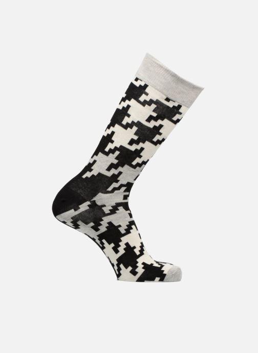 Chaussettes et collants Happy Socks Dogtooth Noir vue détail/paire