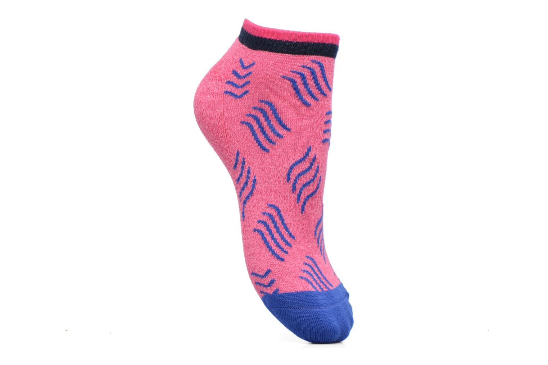Sokken en panty's Happy Socks Athletic Microwave Low Roze detail
