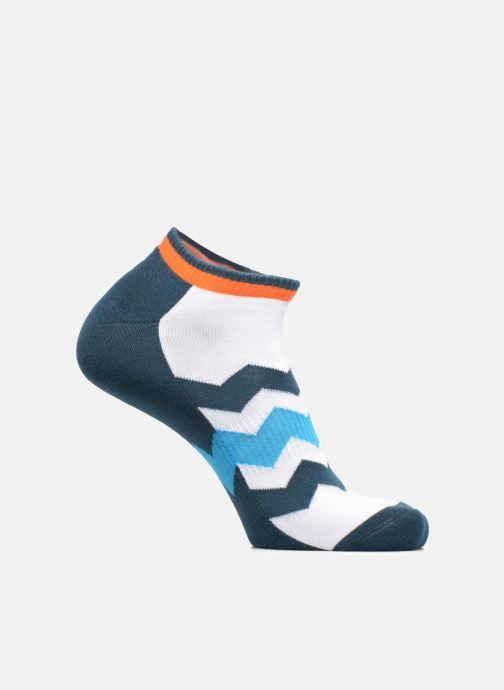 Sokken en panty's Happy Socks Athletic Zig Stripe Low Blauw detail