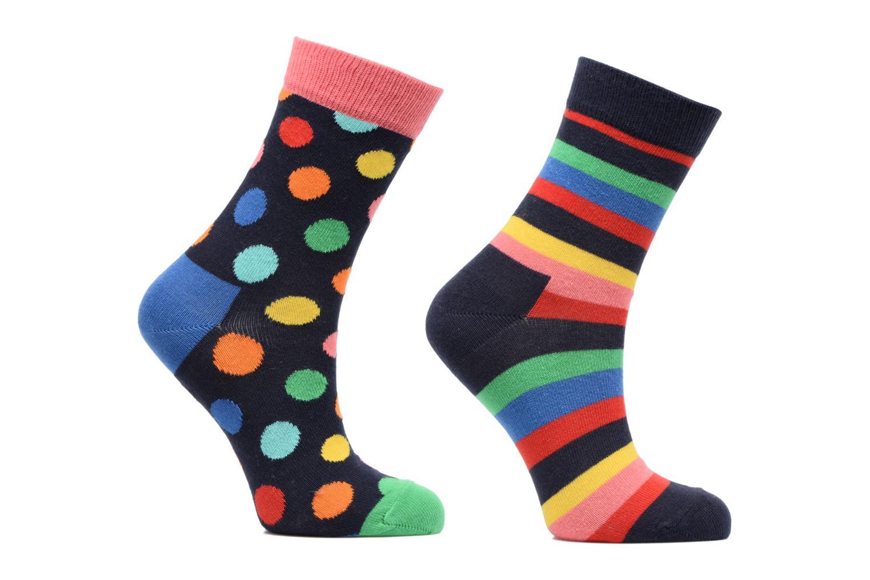 Socken & Strumpfhosen Happy Socks Lot de 2 Chaussettes Stripe Kids mehrfarbig detaillierte ansicht/modell