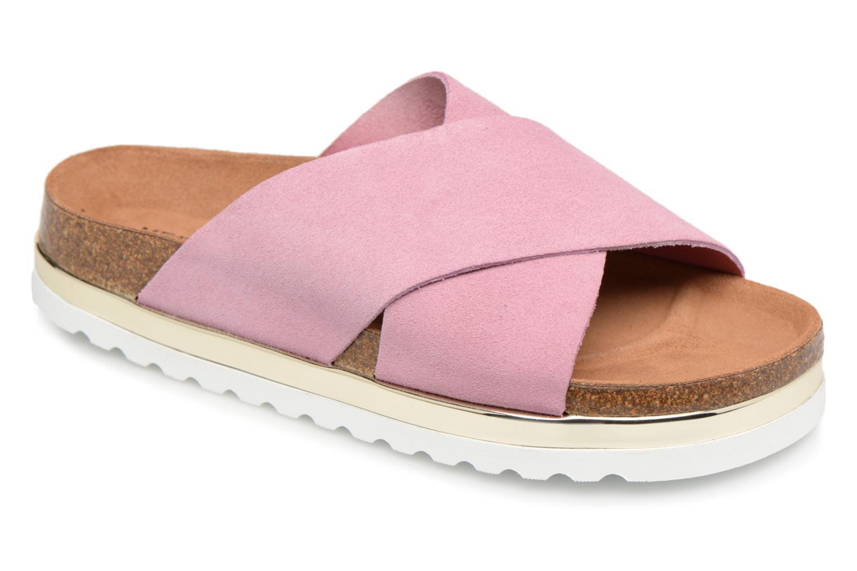 Nuevo zapatos Zuecos Vero Moda Lisa Leather Sandal (Rosa) - Zuecos zapatos en Más cómodo ac5827