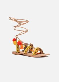 Sandalen Damen Lullu Leather Sandal