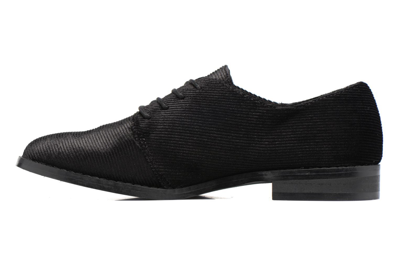 Zapatos con cordones Vero Moda Sofus Shoe Negro vista de frente