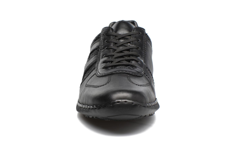 Zapatos con cordones Rieker Louis 04713 Negro vista del modelo