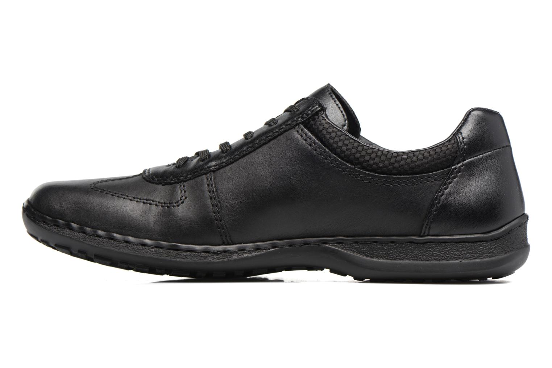 Zapatos con cordones Rieker Louis 04713 Negro vista de frente