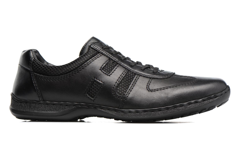 Zapatos con cordones Rieker Louis 04713 Negro vistra trasera