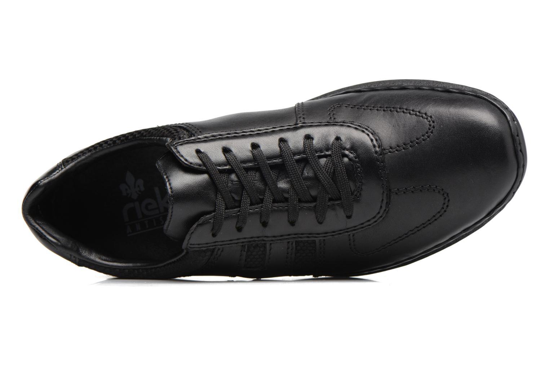Zapatos con cordones Rieker Louis 04713 Negro vista lateral izquierda