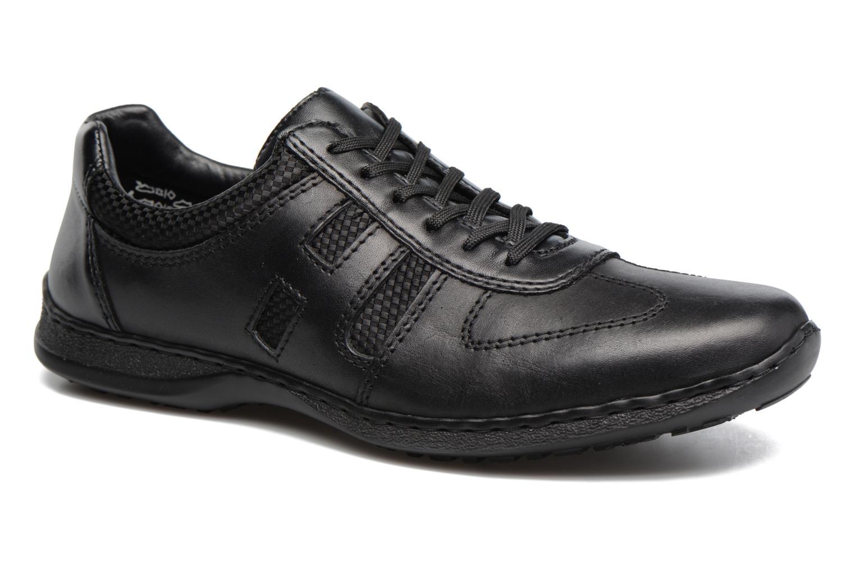 Zapatos con cordones Rieker Louis 04713 Negro vista de detalle / par