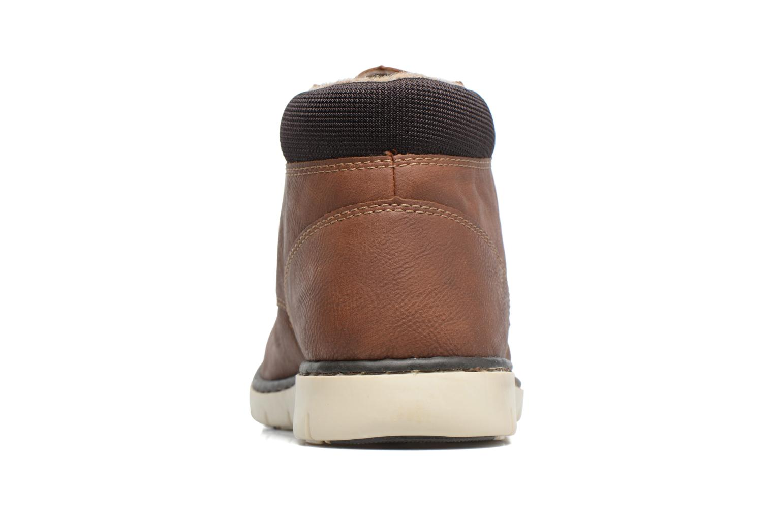 Ankle boots Rieker Freddy 37520 Brown view from the right