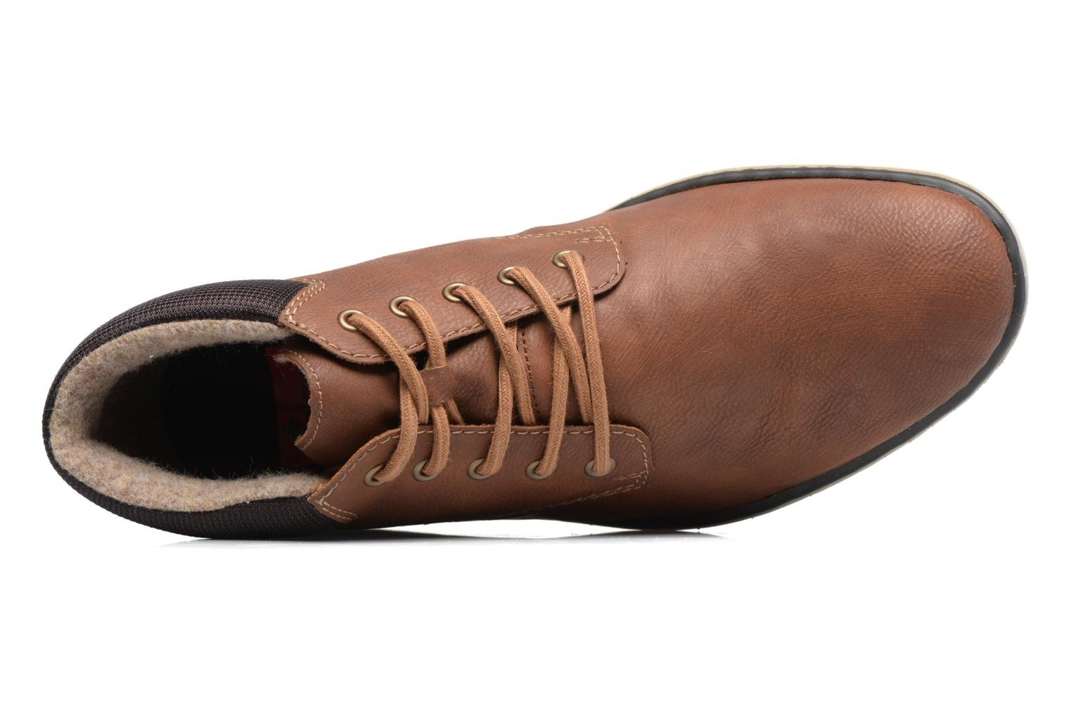 Ankle boots Rieker Freddy 37520 Brown view from the left