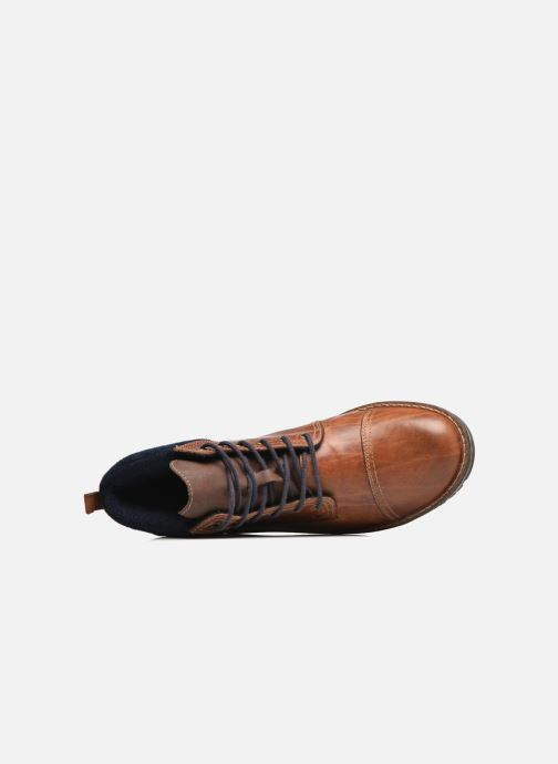 Boots en enkellaarsjes Rieker Stani 39230 Bruin links