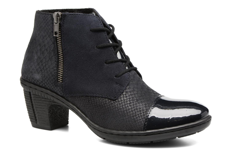 Bottines et boots Rieker Ivy 50241 Bleu vue détail/paire