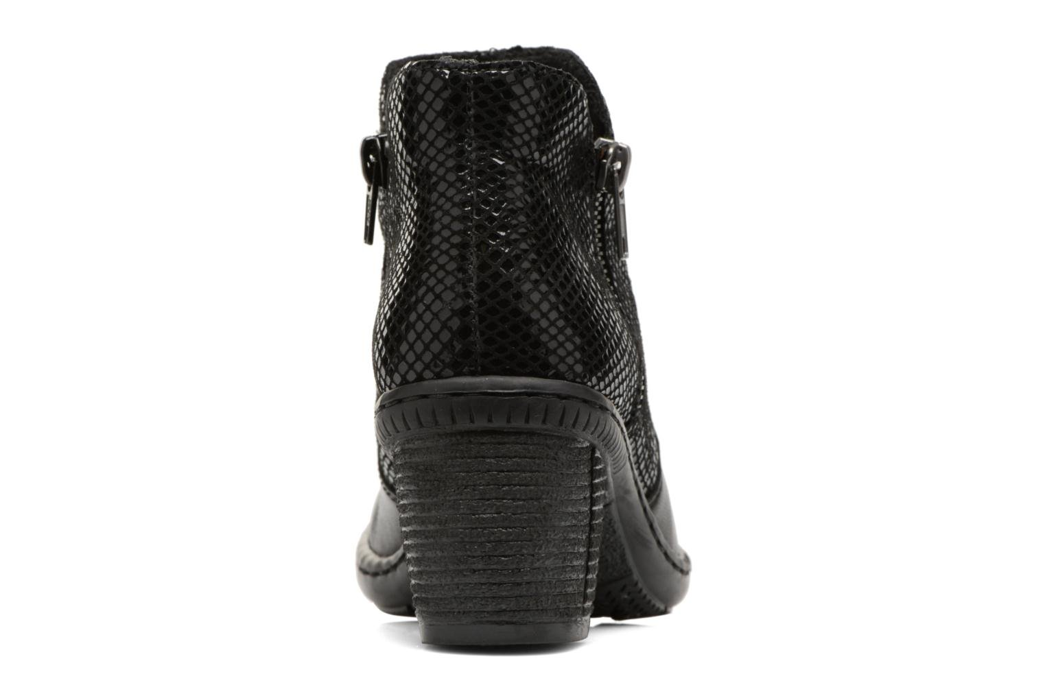 Ankle boots Rieker Anya 50288 Black view from the right