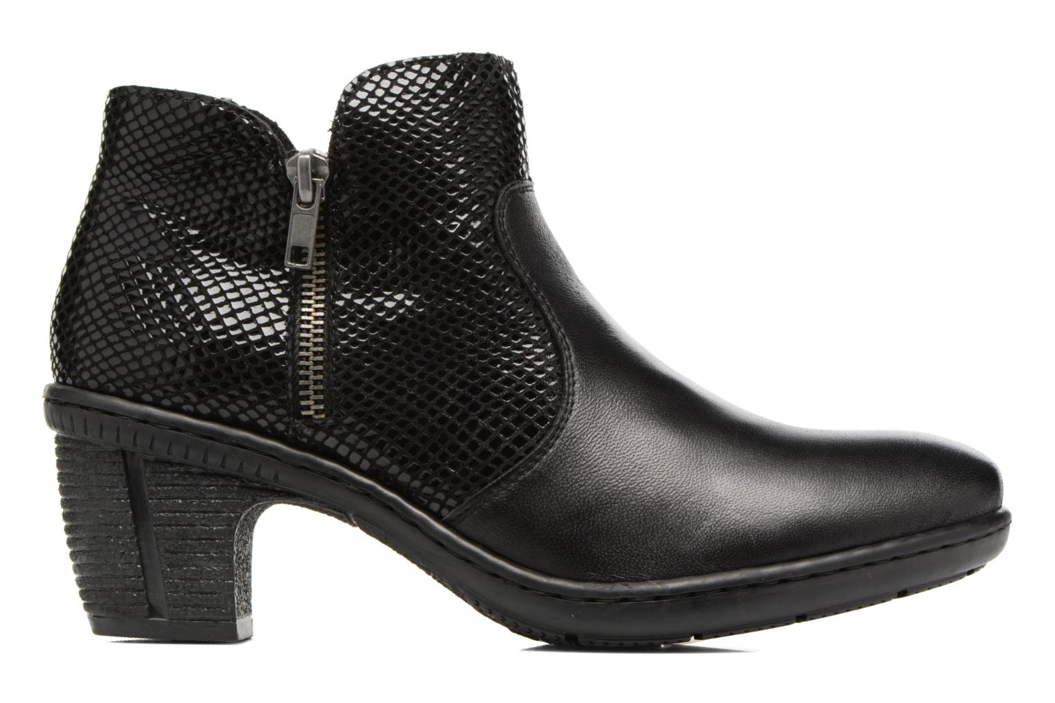 Ankle boots Rieker Anya 50288 Black back view