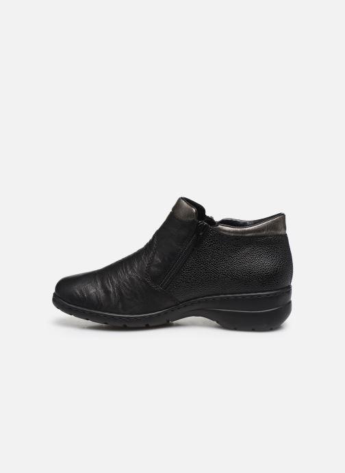 Ankle boots Rieker Maria L4363 Black front view