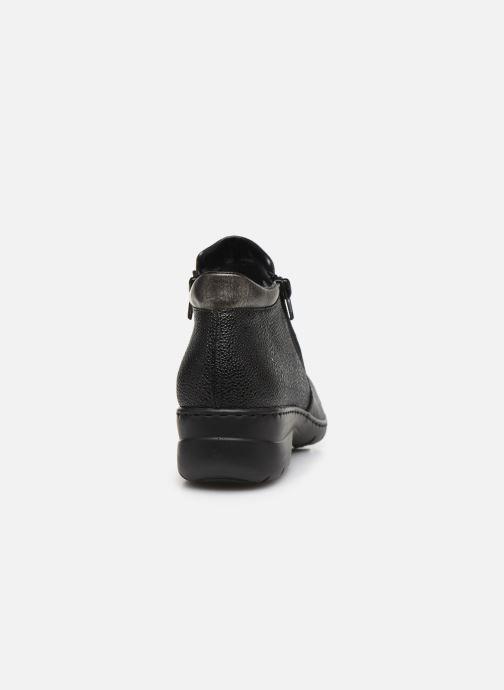 Bottines et boots Rieker Maria L4363 Noir vue droite