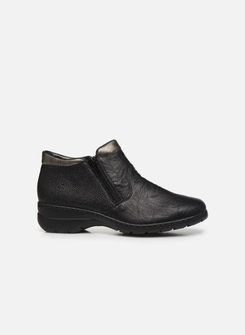 Ankle boots Rieker Maria L4363 Black back view