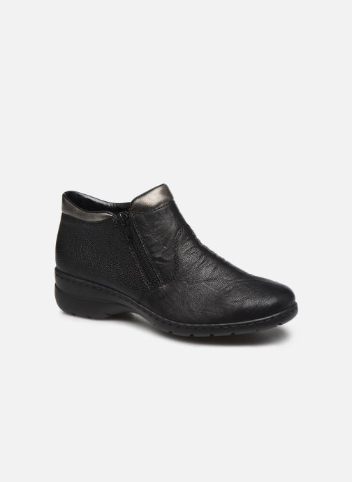 Ankle boots Rieker Maria L4363 Black detailed view/ Pair view