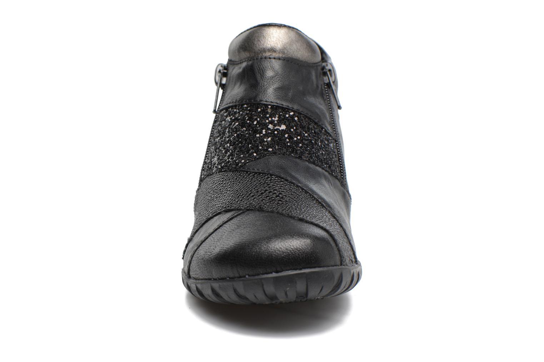 Bottines et boots Rieker Nicky L4673 Noir vue portées chaussures