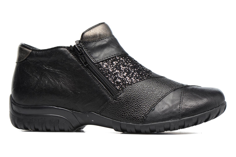 Bottines et boots Rieker Nicky L4673 Noir vue derrière