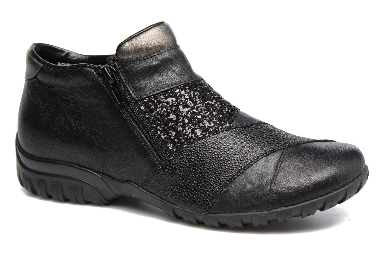 Bottines et boots Rieker Nicky L4673 Noir vue détail/paire