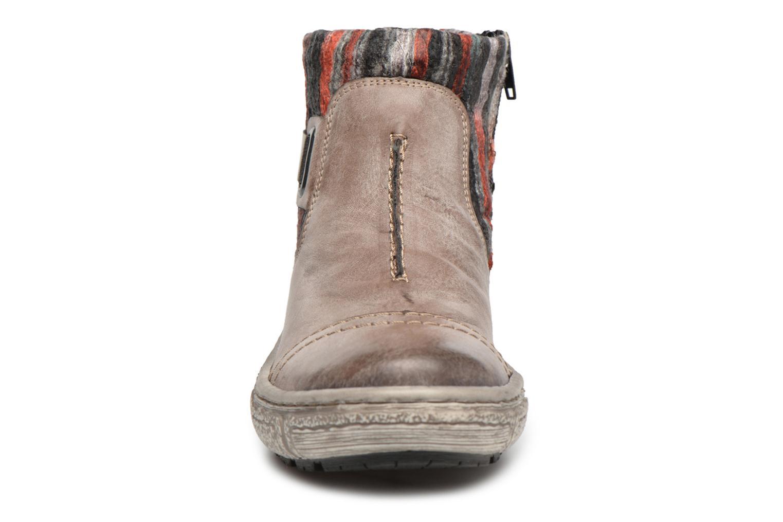 Ankelstøvler Rieker Maud Z7984 Grå se skoene på