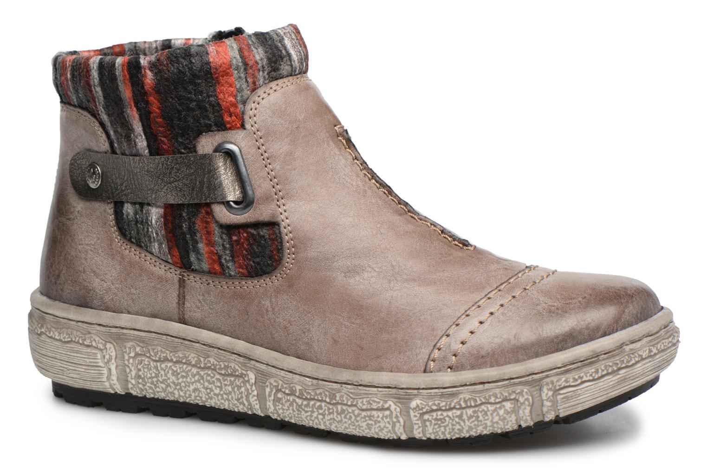 Ankelstøvler Rieker Maud Z7984 Grå detaljeret billede af skoene