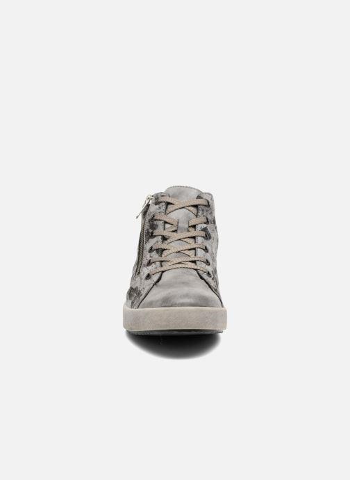 Sneakers Rieker Donna K5272 Grigio modello indossato