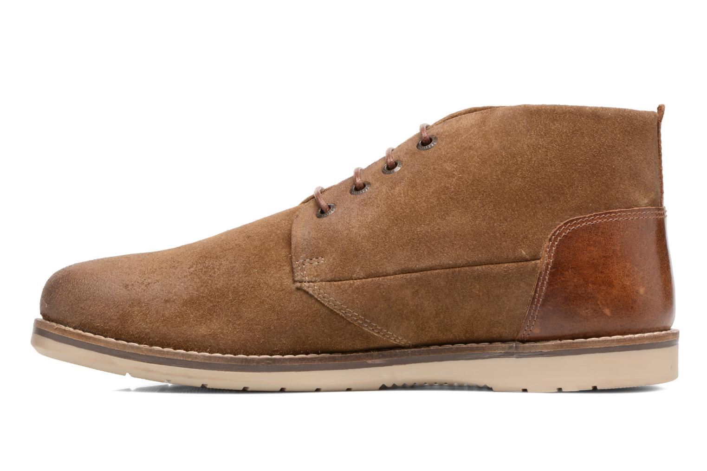 Chaussures à lacets Redskins Balmon Marron vue face
