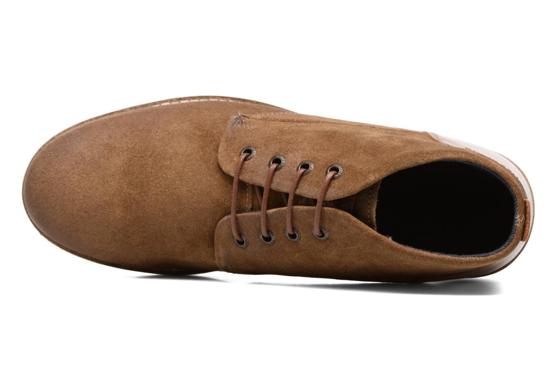 Chaussures à lacets Redskins Balmon Marron vue gauche