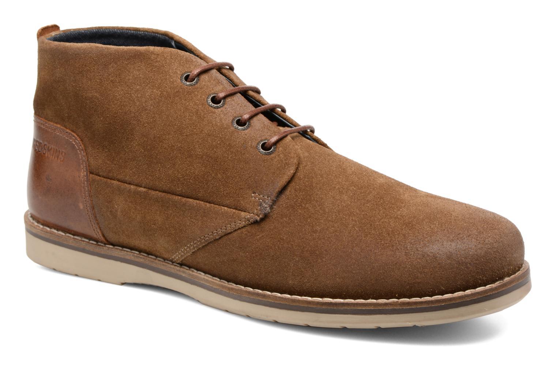 Chaussures à lacets Redskins Balmon Marron vue détail/paire