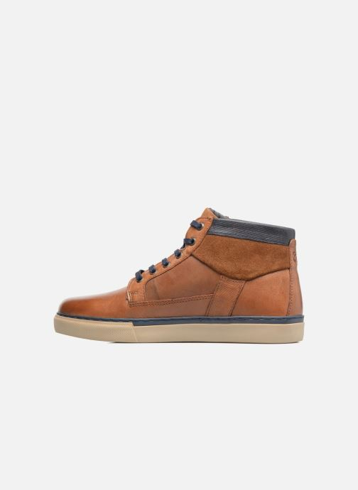 Trainers Redskins Cournol Brown front view