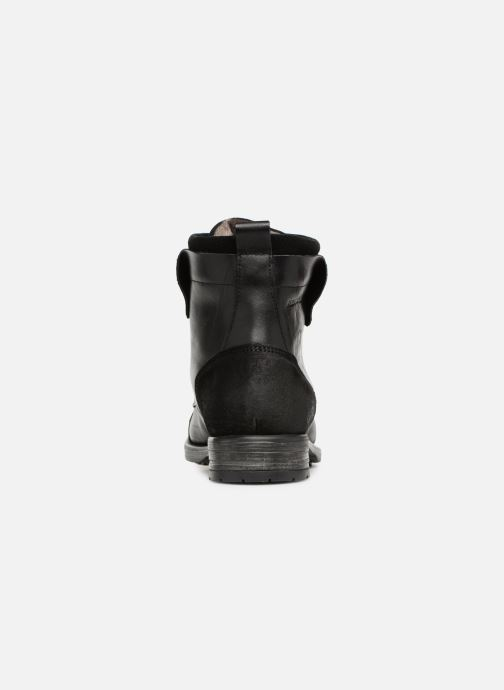 Ankle boots Redskins Yedes Black view from the right