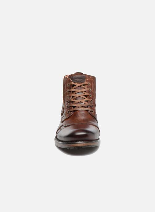 Bottines et boots Redskins Yvori Marron vue portées chaussures