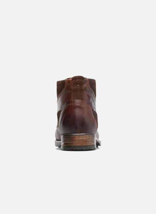 Ankle boots Redskins Yvori Brown view from the right