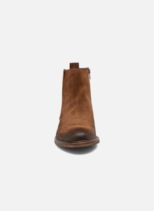 Bottines et boots Redskins Devic Marron vue portées chaussures