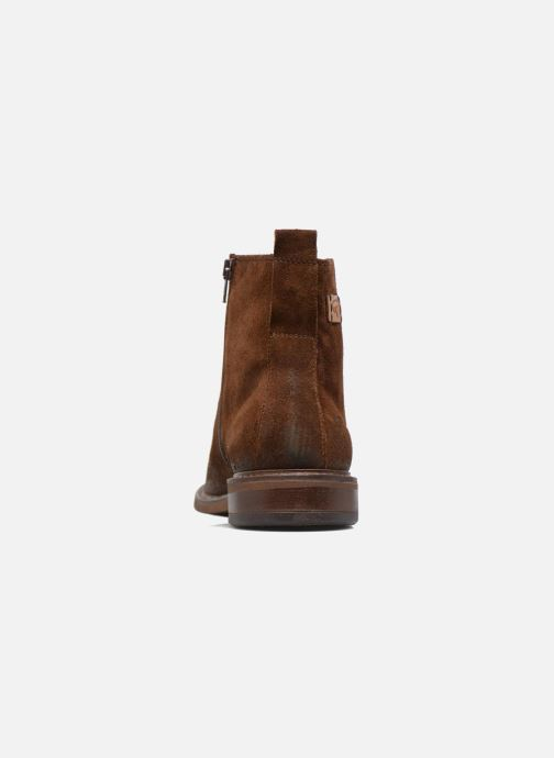 Ankle boots Redskins Devic Brown view from the right