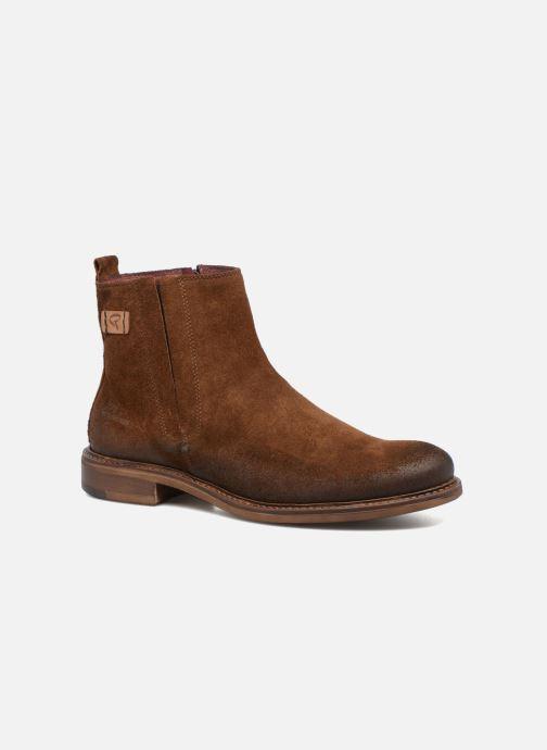 Boots en enkellaarsjes Redskins Devic Bruin detail