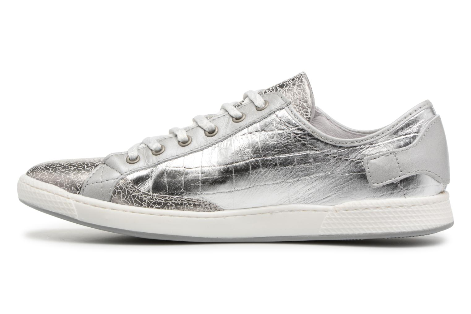 Trainers Pataugas JesterM Silver front view