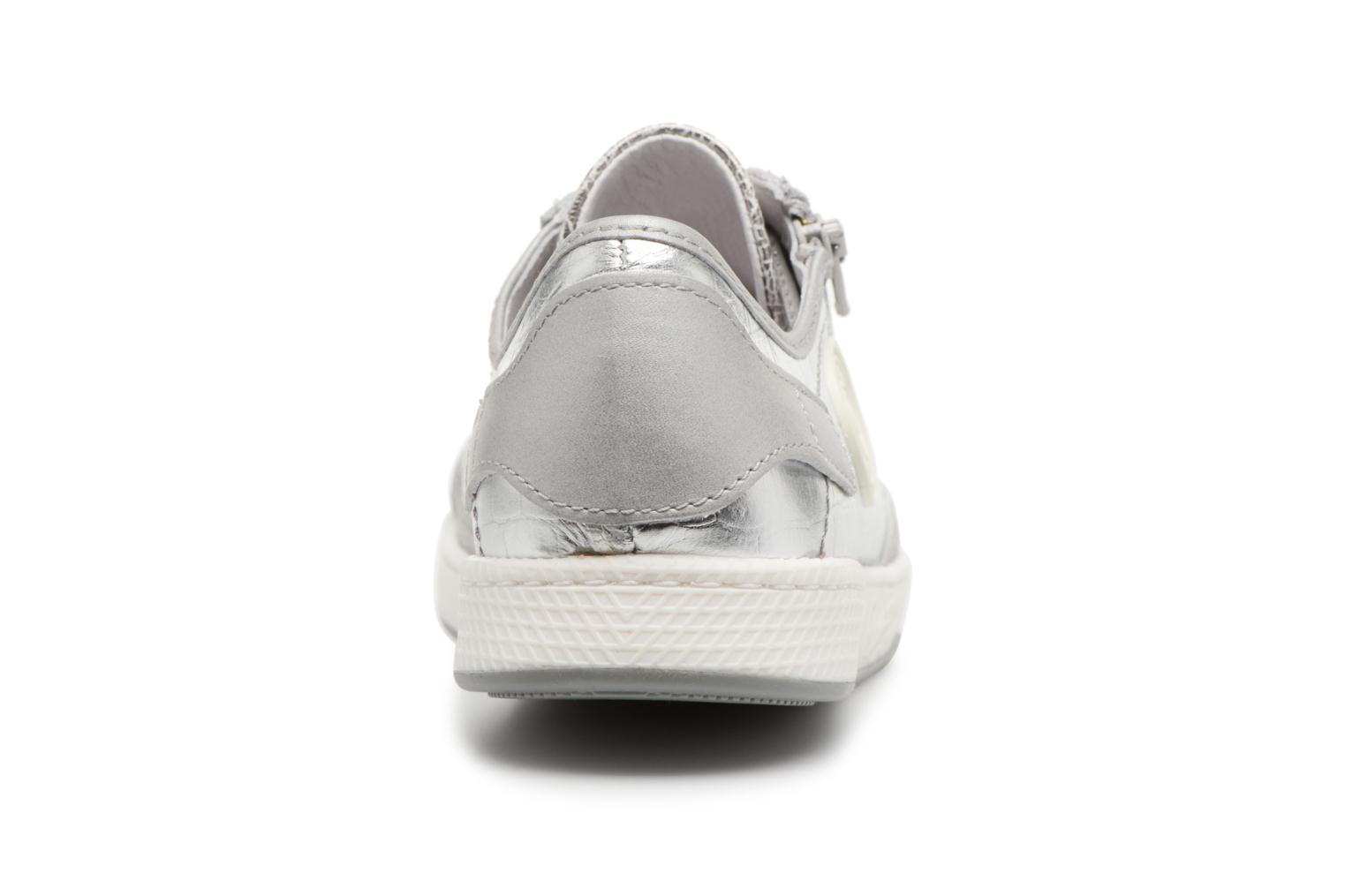Trainers Pataugas JesterM Silver view from the right