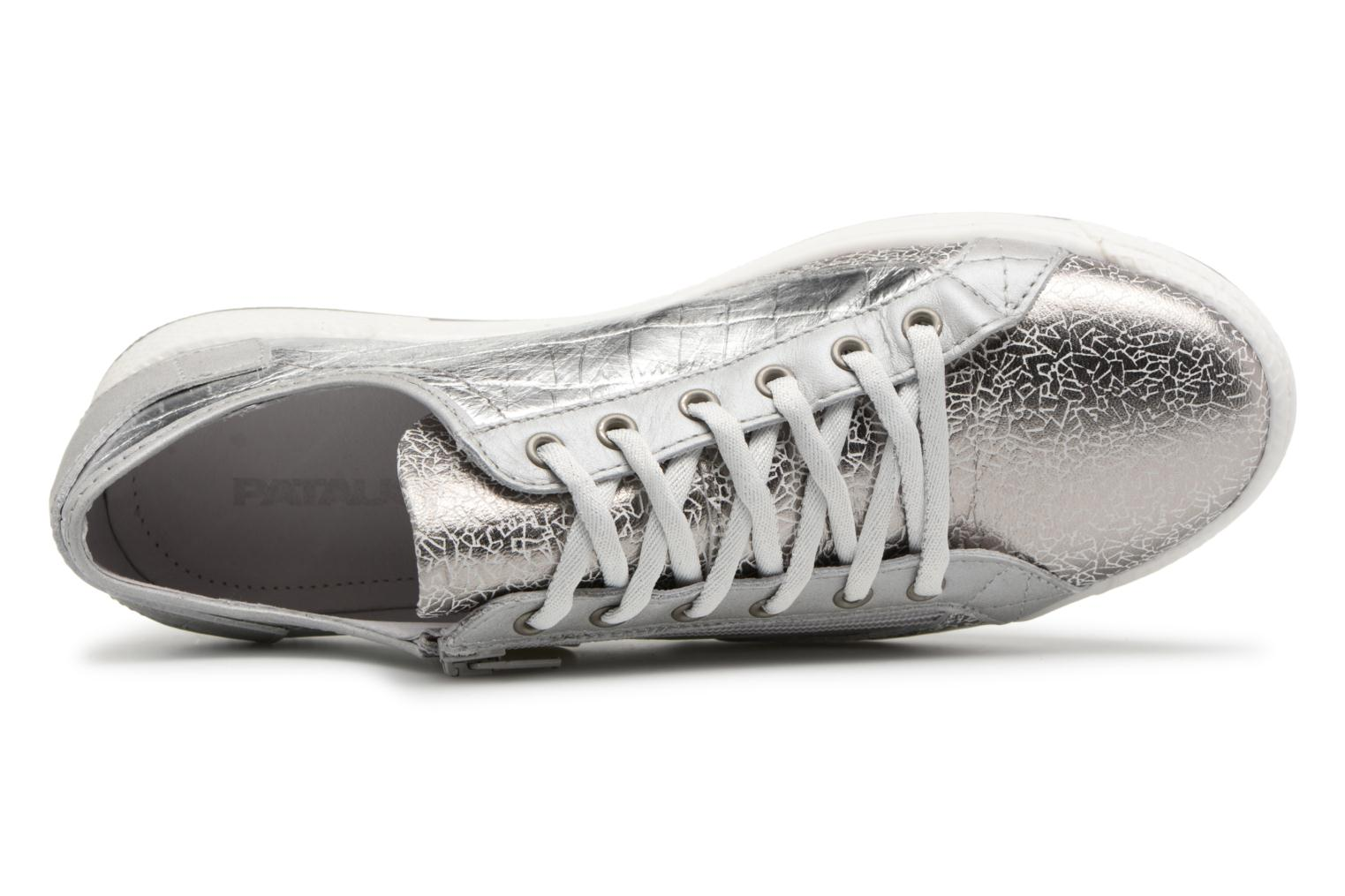 Trainers Pataugas JesterM Silver view from the left