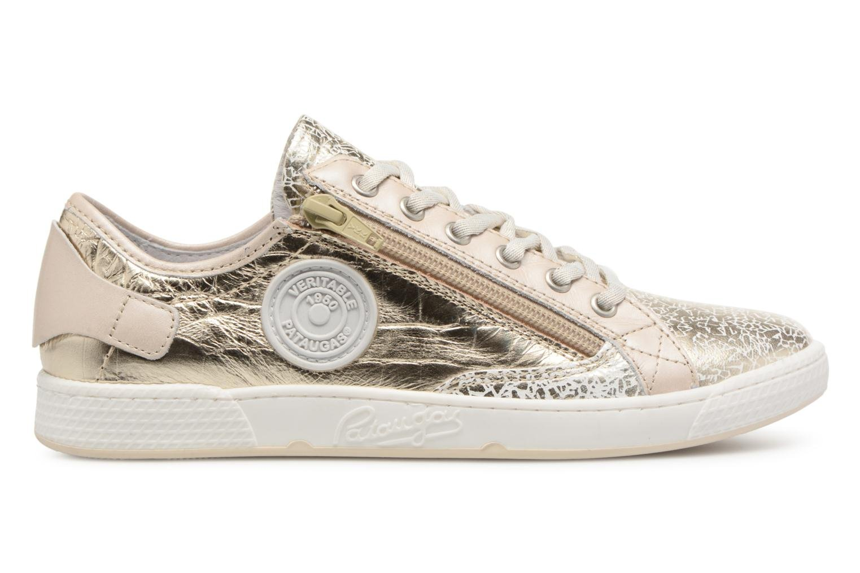 Sneakers Pataugas JesterM Goud en brons achterkant