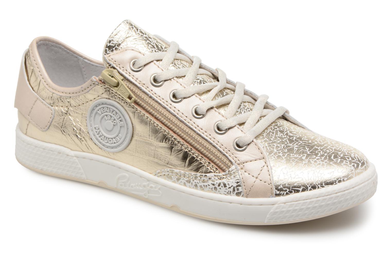 Sneakers Pataugas JesterM Goud en brons detail