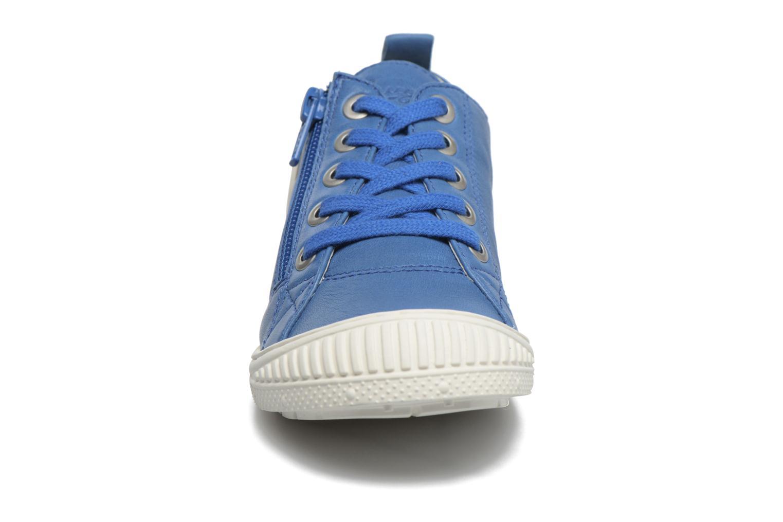 Baskets Pataugas RIDE/ROCKY Bleu vue portées chaussures