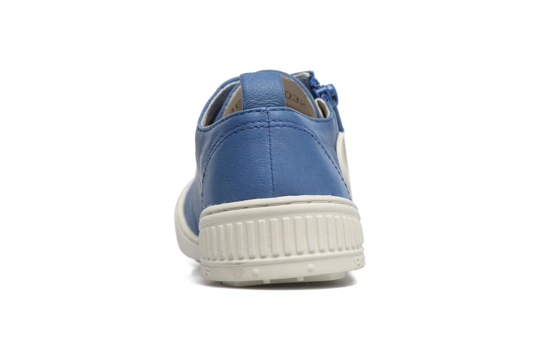 Baskets Pataugas RIDE/ROCKY Bleu vue droite
